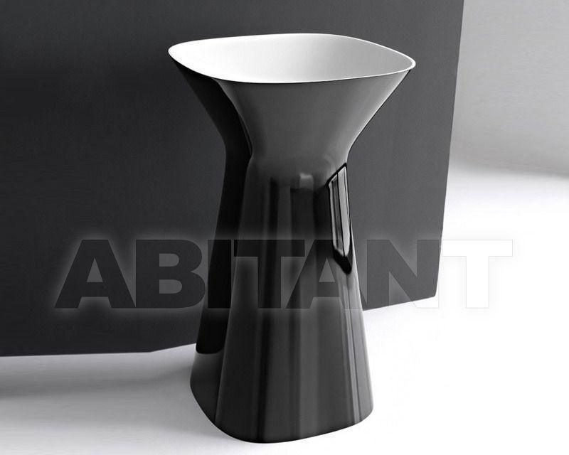 Купить Раковина напольная Hidra Ceramica S.r.l. Mister MR 15 BIANCO/NERO