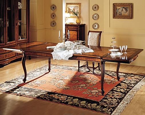 Купить Стол обеденный Marzorati Royal Radica TAVOLO RETTANGOLARE ALLUNGABILE ROYAL radica