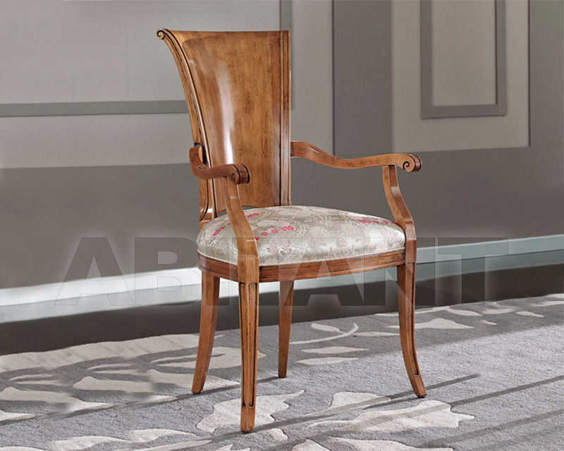 Купить Стул с подлокотниками BS Chairs S.r.l. Raffaello 3068/A