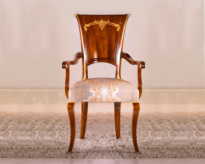 Купить Стул с подлокотниками BS Chairs S.r.l. Raffaello 3309/A