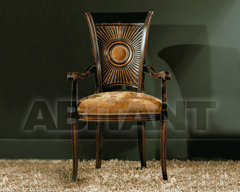 Купить Стул с подлокотниками BS Chairs S.r.l. Raffaello 3192/A