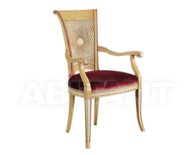 Купить Стул с подлокотниками BS Chairs S.r.l. Raffaello 3154/A 2