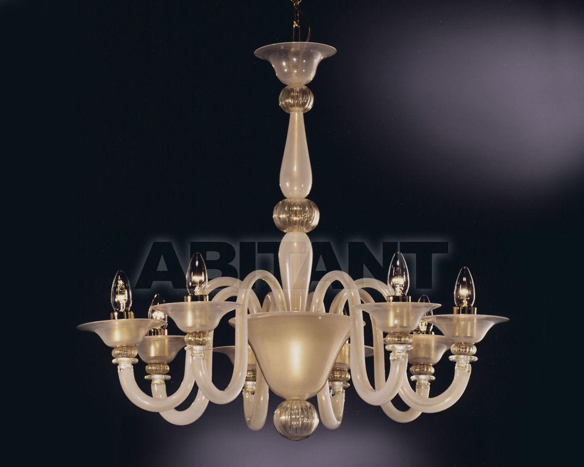Купить Люстра Cavalliluce di Mirco Cavallin Venice 104L6 Seta oro trasp.oro