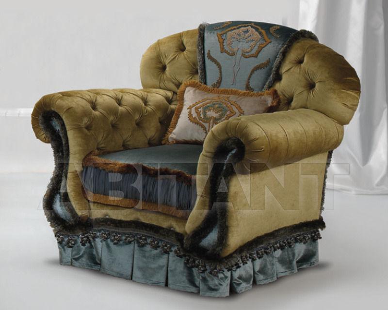 Купить Кресло Daniela Lucato Malibu Poltrona in seta e veliuto