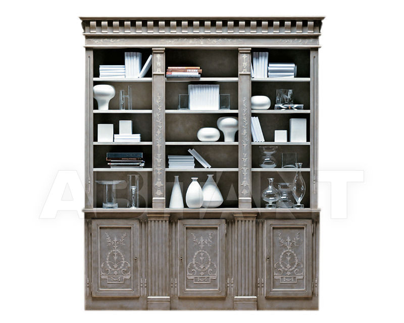 Купить Библиотека Sangallo Patina by Codital srl Exquisite Furniture C52 LG / HT 2