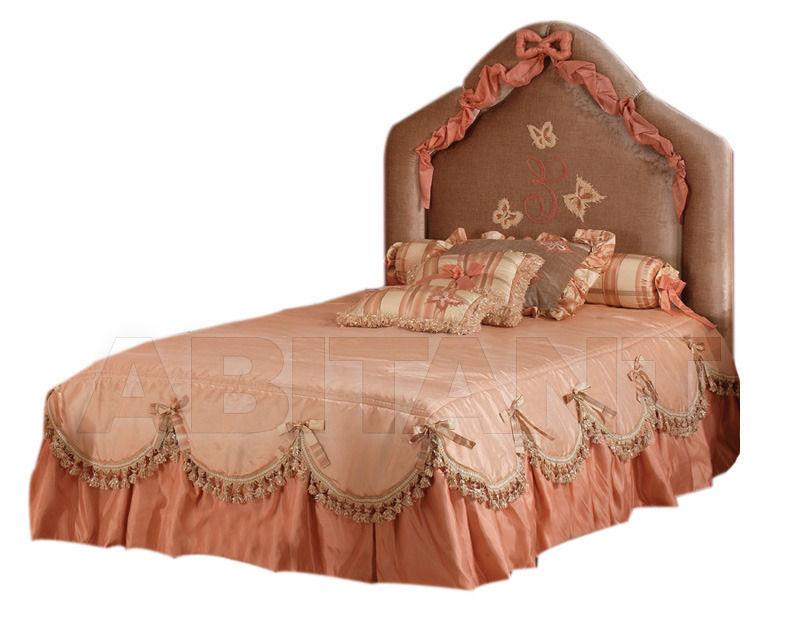 Купить Кровать Daniela Lucato Michelle Letto in seta e veliuto