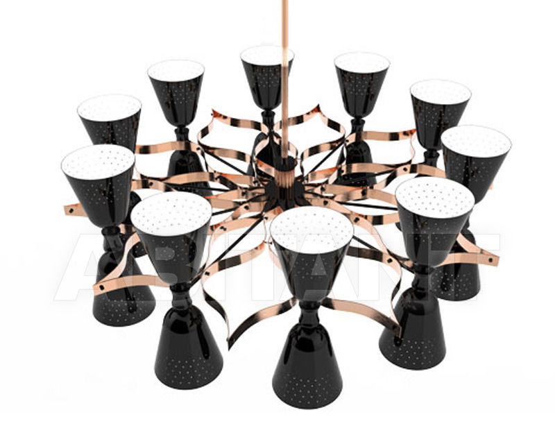 Купить Люстра Delightfull by Covet Lounge Suspension CHARLES 20 black