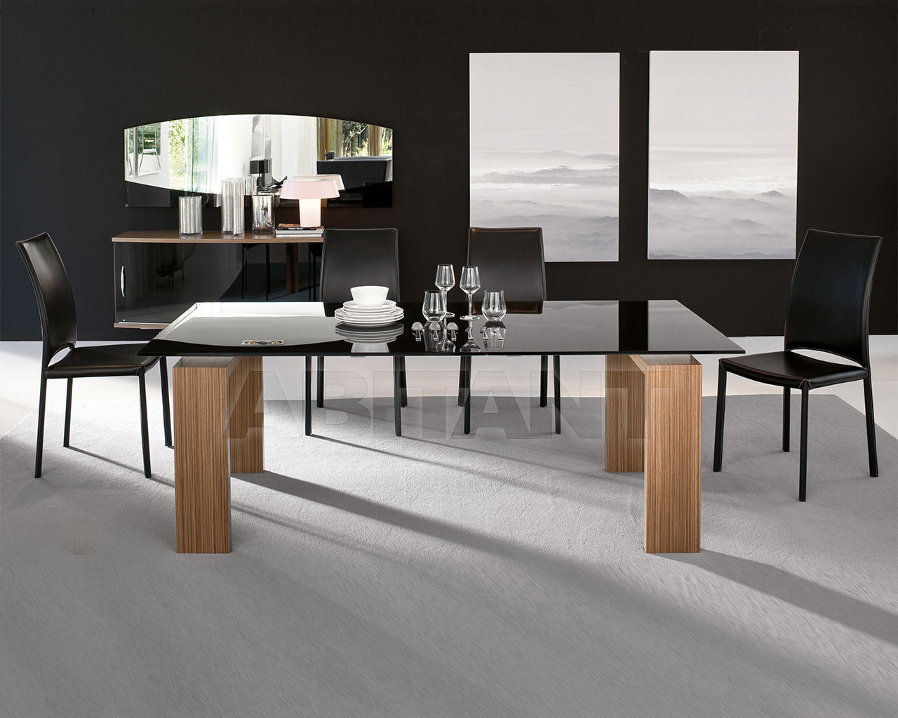 Купить Стол обеденный Brooklyn  Tonin Casa Rossa 8000 FSC_ceramic