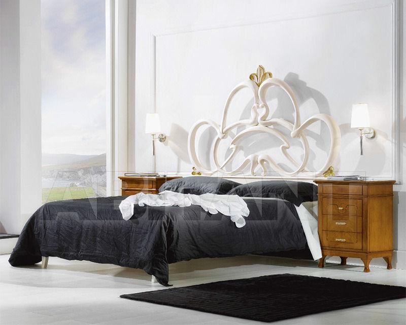 Купить Кровать 2 Elle snc di Lenzi P. e P.  Dolci Songi Anthea Versione patinato e foglia oro