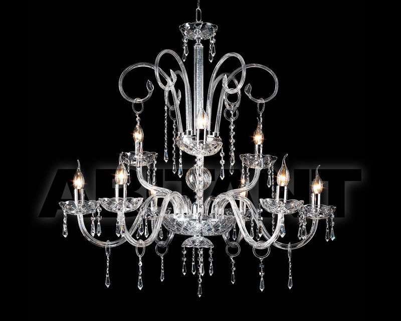 Купить Люстра Ciciriello Lampadari s.r.l. Lighting Collection CARMEN lampadario 5 luci