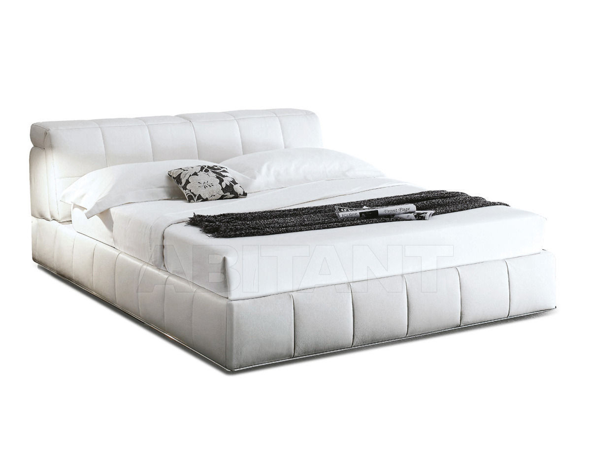 Купить Кровать Nicoline Letti ELEGANCE CONTENITORE CON PIEDI Matr. 160x195 1 Mov