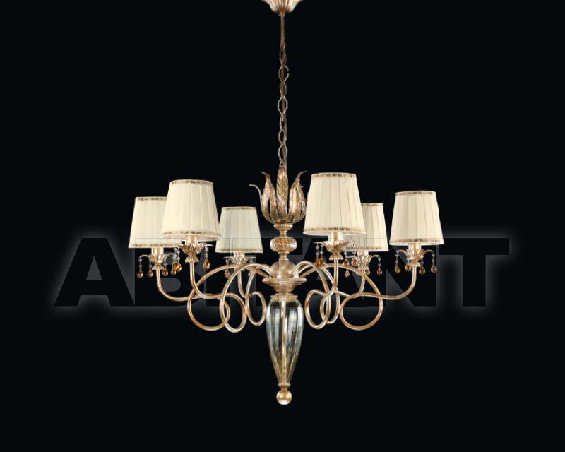 Купить Люстра Renzo del Ventisette & C. S.A.S Con Paralumi 3792/6 CP