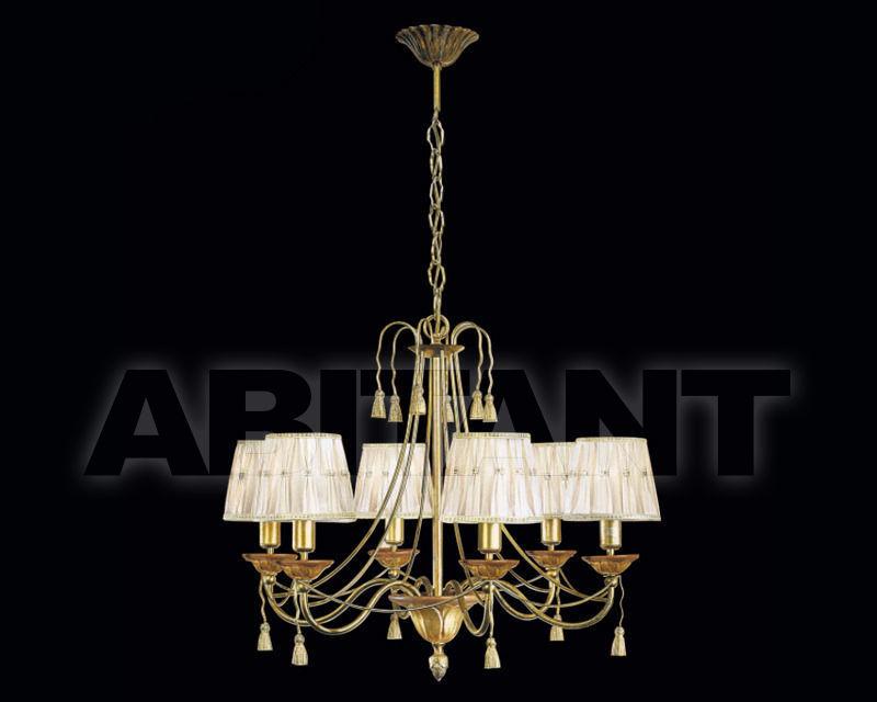 Купить Люстра Renzo del Ventisette & C. S.A.S Con Paralumi L 13593/6 CP