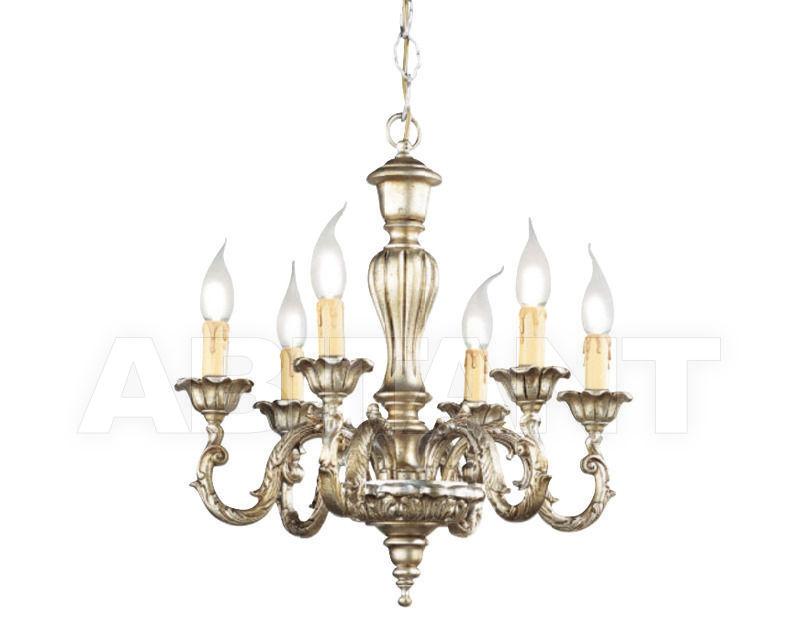 Купить Люстра Renzo del Ventisette & C. S.A.S Legno L 13597/6 BIS