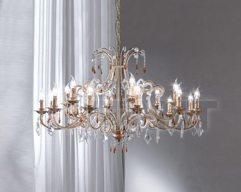 Купить Люстра Renzo del Ventisette & C. S.A.S Legno L 14101/12+6