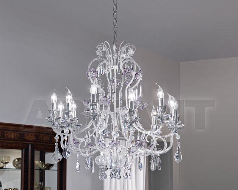Купить Люстра Renzo del Ventisette & C. S.A.S Legno L 14113/8+4
