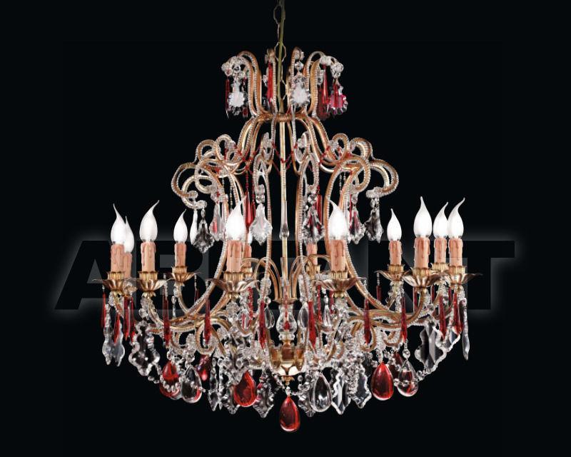 Купить Люстра Renzo del Ventisette & C. S.A.S Legno L 14002/12