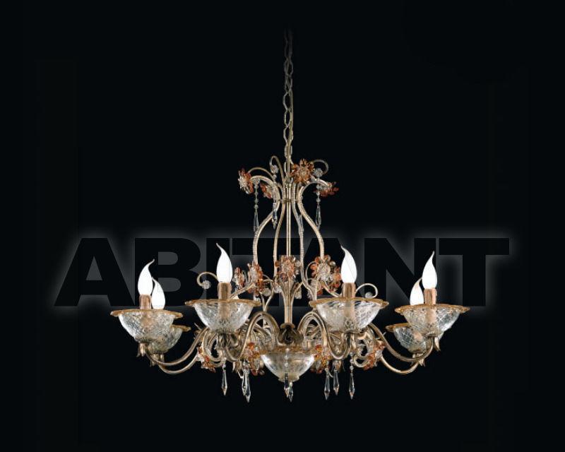Купить Люстра Renzo del Ventisette & C. S.A.S Legno L 14133/8