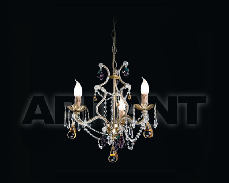 Купить Люстра Renzo del Ventisette & C. S.A.S Legno L 14081/3