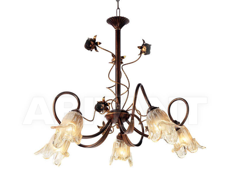 Купить Люстра Ciciriello Lampadari s.r.l. Lighting Collection ARTICLE lampadario 5 luci