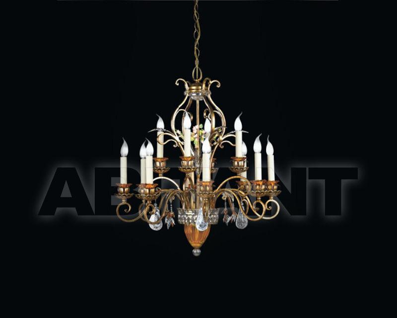 Купить Люстра Renzo del Ventisette & C. S.A.S Cristalli 14075/8+4