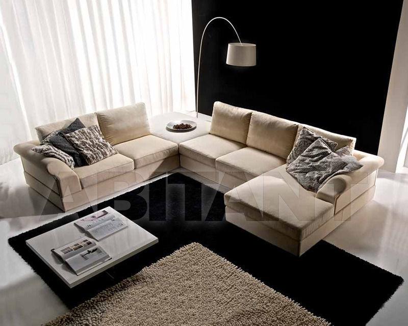 Купить Диван Formerin Charming And Luxurious Mood DANDY Divano terminale/Sofa with one armrest cm. 180 + Pouff cm. 111x111 + Divano centrale/Sofa without armrest cm. 152 + Chaise longue cm. 106x174