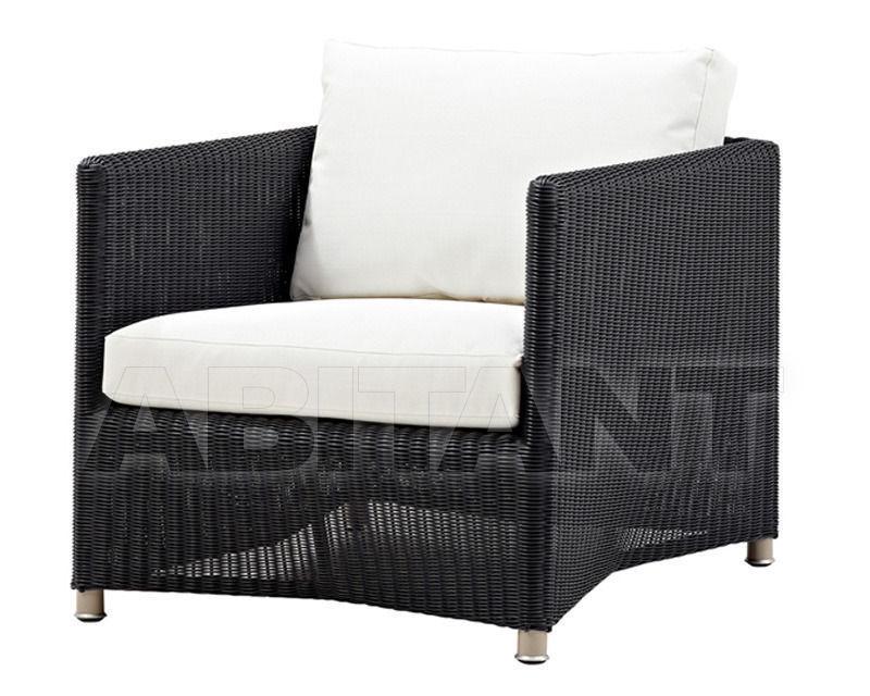 Купить Кресло для террасы Diamond  Cane Line 2014 8402LGW