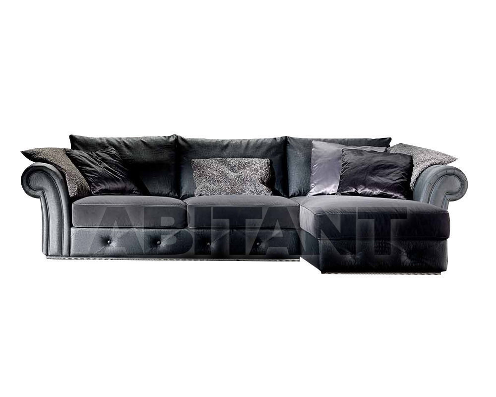 Купить Диван Formerin Charming And Luxurious Mood RAMON PLUS Divano terminale/Sofa with one armrest cm. 185 + Chaise longue cm. 110x166