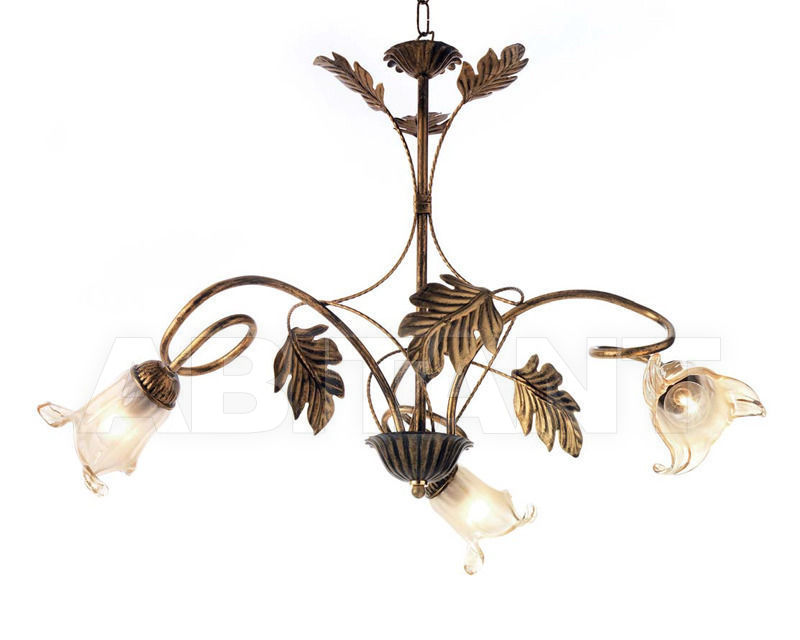 Купить Люстра Ciciriello Lampadari s.r.l. Lighting Collection 2490 ruggine lampadario 3 luci