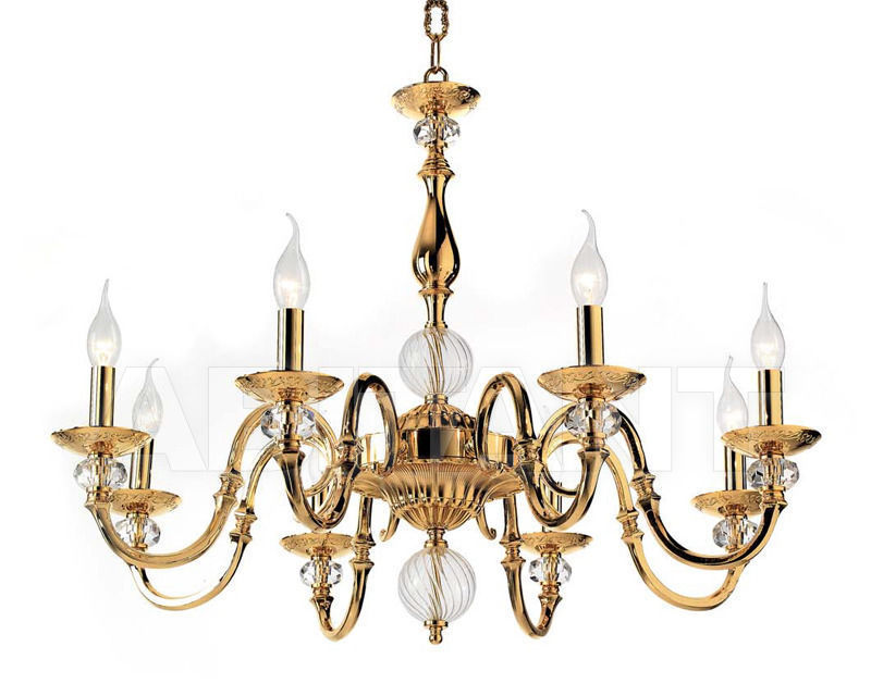 Купить Люстра Ciciriello Lampadari s.r.l. Lighting Collection DEBORA lampadario 8 luci