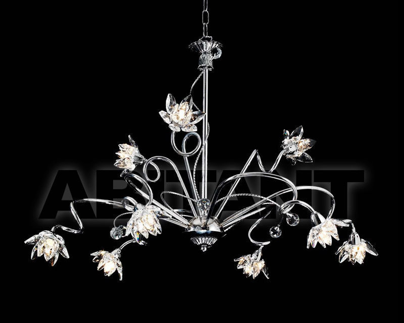 Купить Люстра Ciciriello Lampadari s.r.l. Lighting Collection 2012 cromo lampadario 9 luci