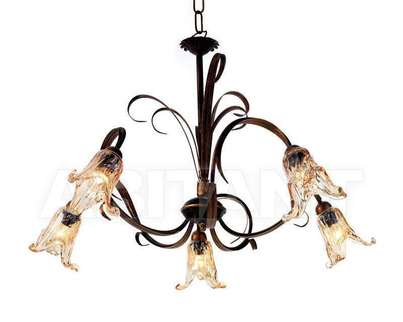 Купить Люстра Ciciriello Lampadari s.r.l. Lighting Collection PESARO lampadario 5 luci