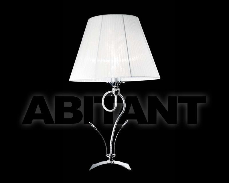 Купить Лампа настольная Ciciriello Lampadari s.r.l. Lighting Collection 2165 cromo lume grande