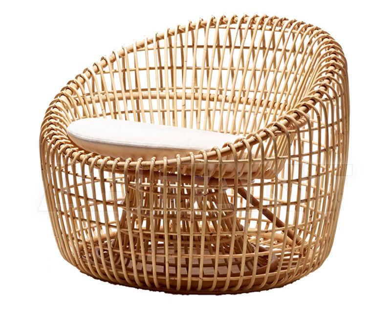 Купить Кресло для террасы Nest lounge Cane Line 2014 7422RU