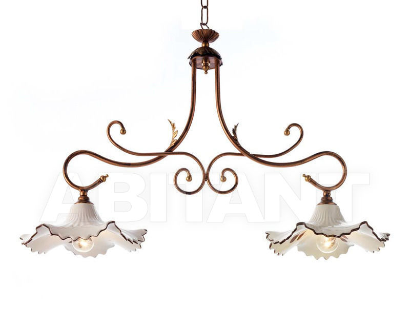 Купить Люстра Ciciriello Lampadari s.r.l. Lighting Collection 2007 sospensione 2 luci