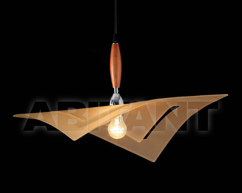 Купить Светильник Ciciriello Lampadari s.r.l. Lighting Collection 316 1 foro sabb. sospensione ambra