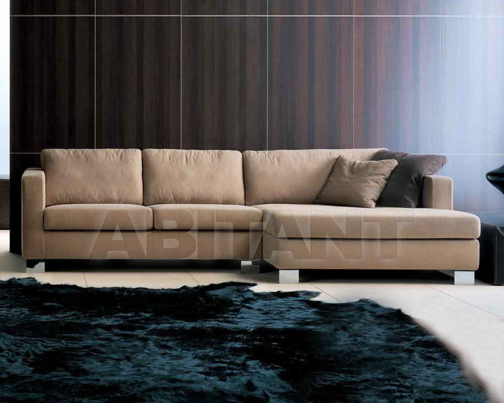 Купить Диван Formerin Contemporary Modern BOGART Divano terminale/Sofa with 1 arm + Chaise longue cm. 82x162
