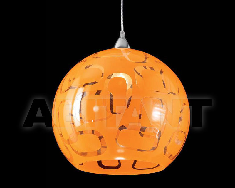 Купить Светильник Ciciriello Lampadari s.r.l. Lighting Collection SFERA 35 sospensione dm.35 arancio