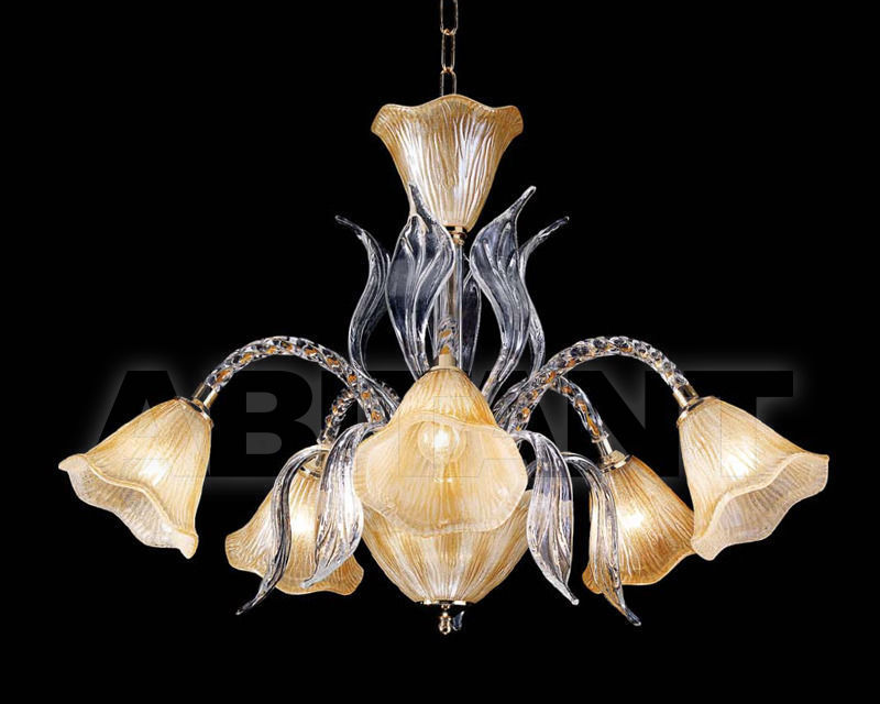 Купить Люстра Ciciriello Lampadari s.r.l. Lighting Collection 635 ambra lampadario 5 luci