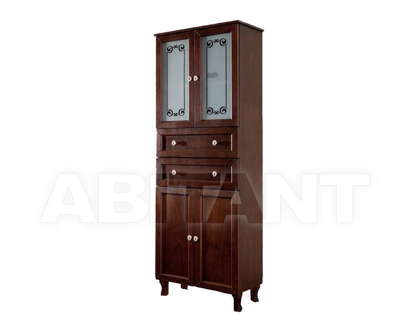 Купить Шкаф для ванной комнаты Ciciriello Lampadari s.r.l. Bathrooms Collection Colonna A60 noce