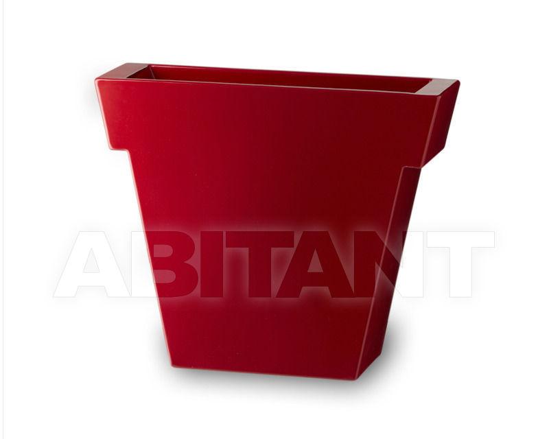 Купить Кашпо Slide Pots SD ILV075 red