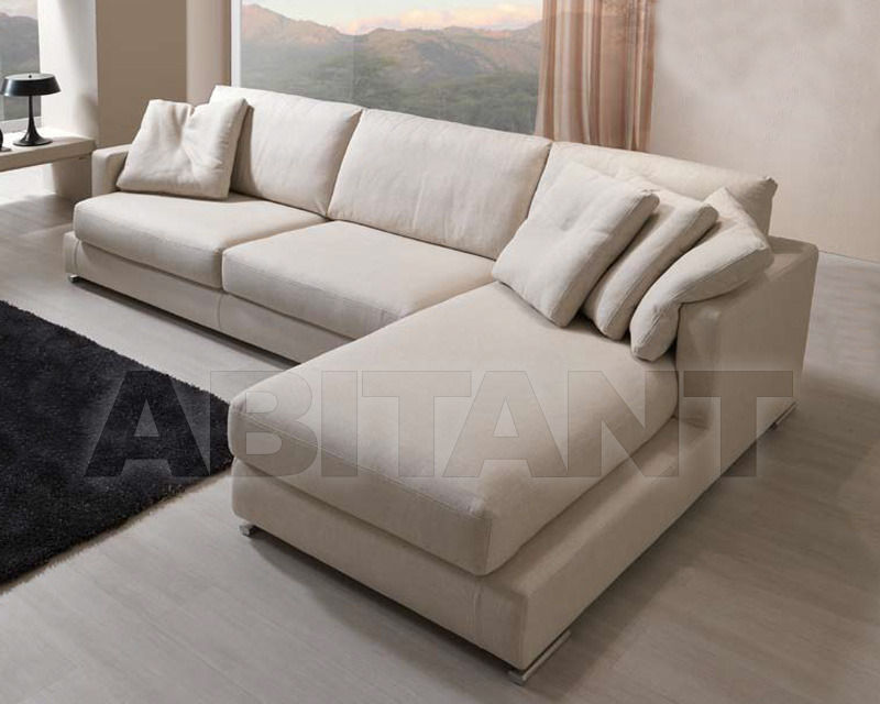 Купить Диван BYRON Vega Salotti Soft 2 posti grande c/1br chaise longue BYRON