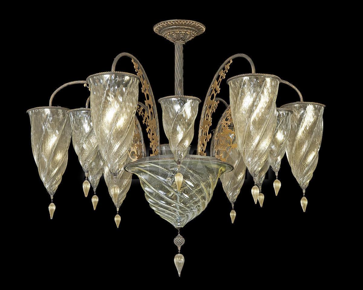Купить Люстра Archeo Venice Design Lamps&complements F7/13  GOLD