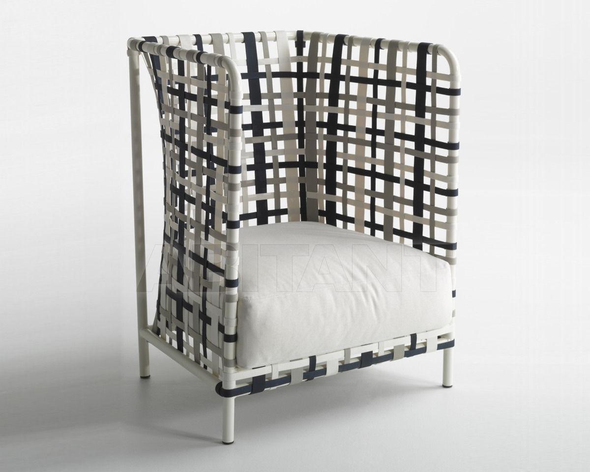 Купить Кресло для террасы Stripes AH Bonacina1889 s.r.l. In Door Out 100401