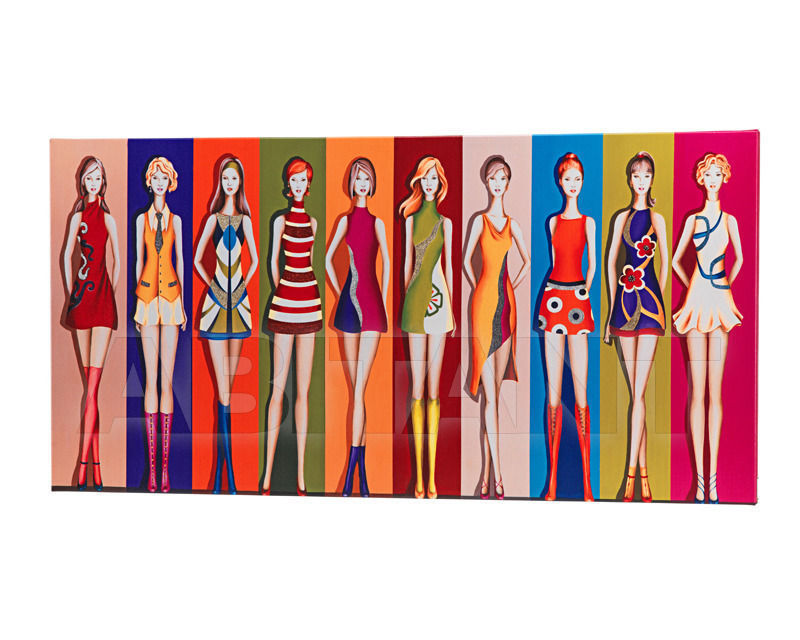 Купить Картина Pintdecor / Design Solution / Adria Artigianato Furnishing Paintings P3252