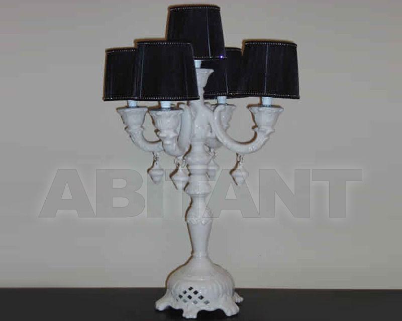 Купить Лампа настольная Razzetti Errepi di R. Razzetti Palladio LA/140/05 BIANCO