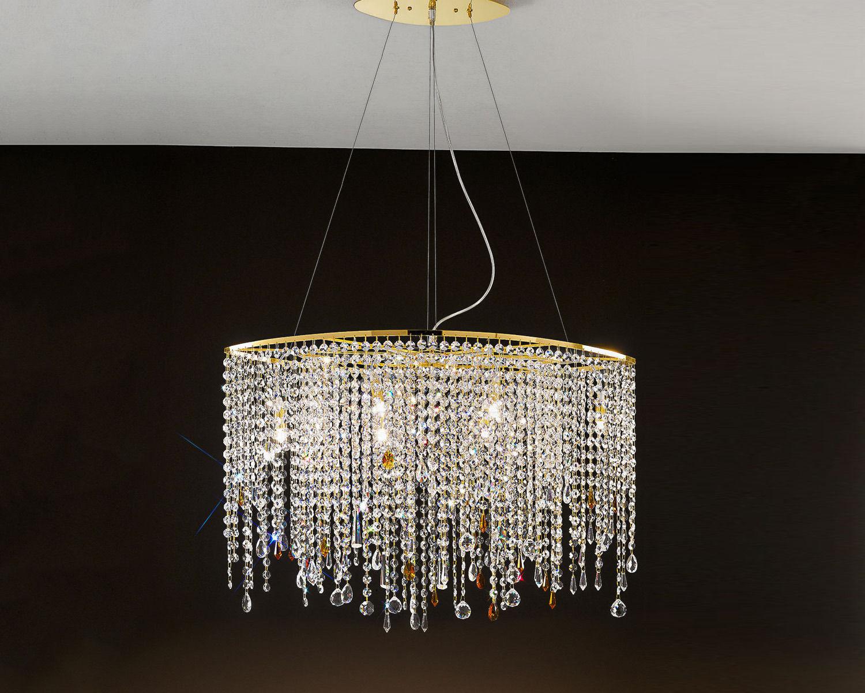 Купить Люстра ALYSSA GOLD Antea Luce Generale Collection 6336.80* COL