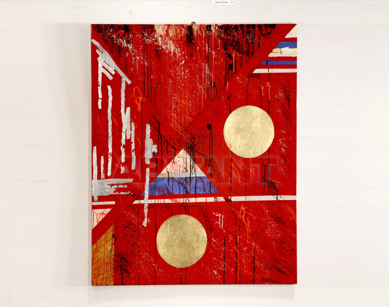 Купить Картина Cross RM Arredamenti - Capricio Capricio AQ010