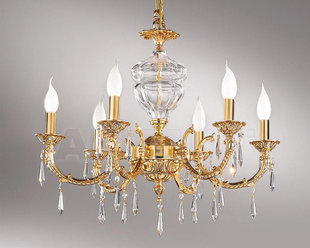 Купить Люстра Nervilamp Snc Nervilamp 2013 581/6 crystal Schoeler clear