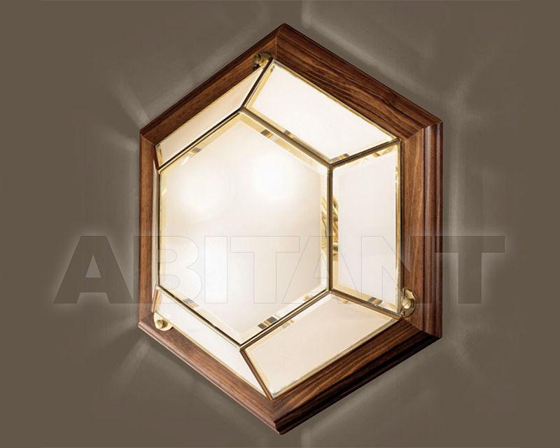 Купить Светильник Cremasco Illuminazione snc Il Rilegato 0980/2PL-PC-LN.cm